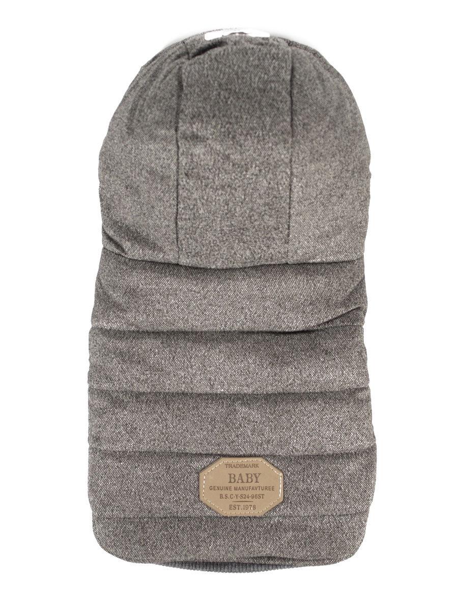 Комбинезон с капюшоном для животных серый P0020-23-S Удачная покупка