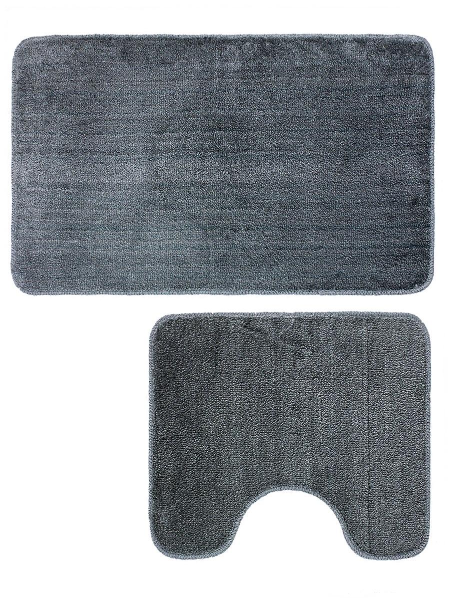Набор ковриков для ванной mr. Penguin RG005/2, серый mr page 2