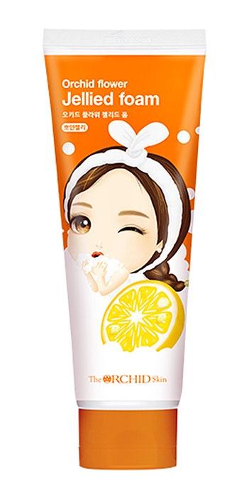 Гель-пенка для лица с экстрактом грейпфрута Orchid Flower Jellied Foam BBO YAN The ORCHID Skin