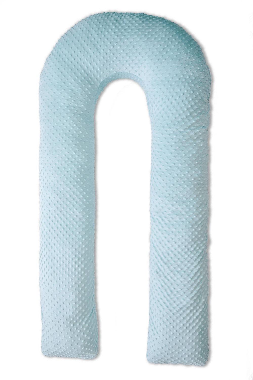 Подушка для кормящих и беременных MommyPillow U 140, голубой