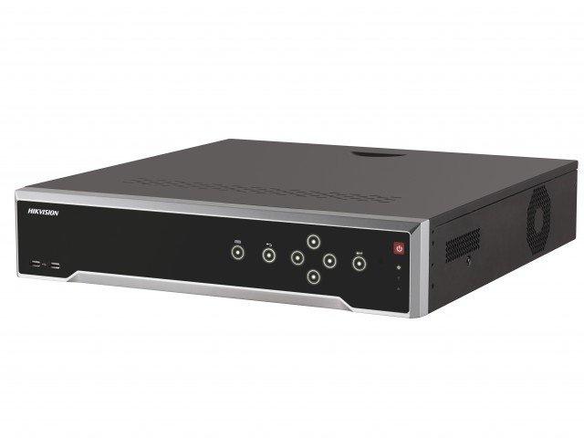 Фото - Регистратор HIKVISION IP видеорегистратор DS-8632NI-K8, черный аксессуар mobiledata hdmi 4k v 2 0 плоский 1 8m hdmi 2 0 fn 1 8