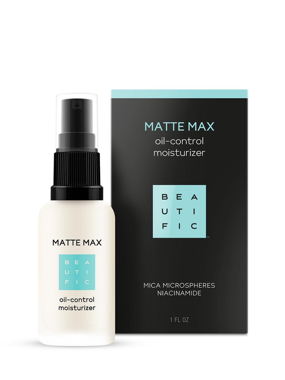 Крем для ухода за кожей BEAUTIFIC Matte Max Матирующий флюид-корректор пор для комбинированной и жирной кожи отшелушить кожу на лице