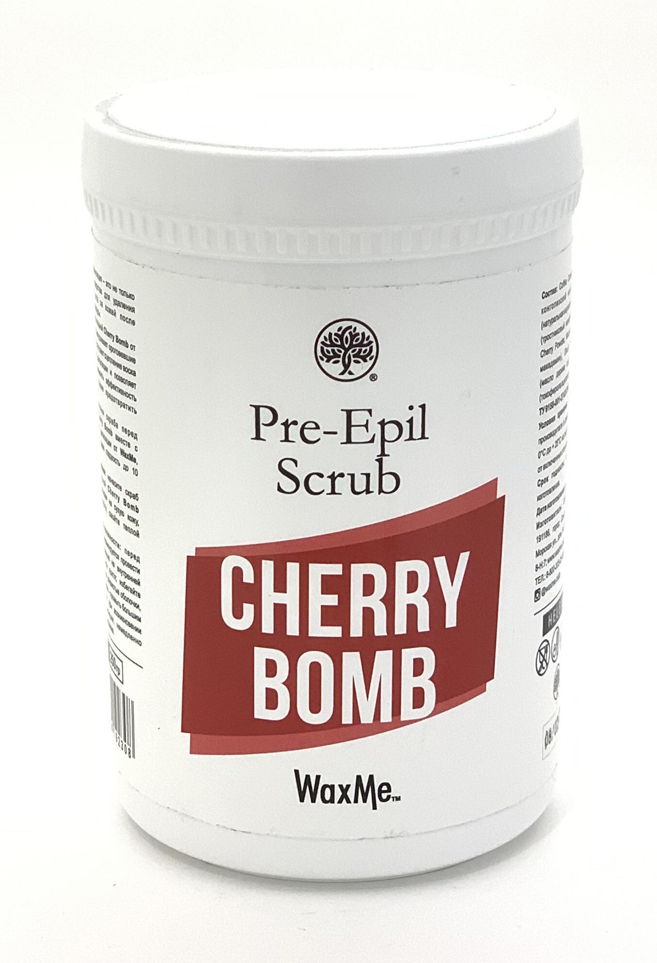 Скраб перед депиляцией Helen Gold WaxMe Cherry Bomb все цены