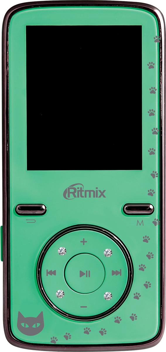 MP3 плеер Ritmix RF-4850, мятный