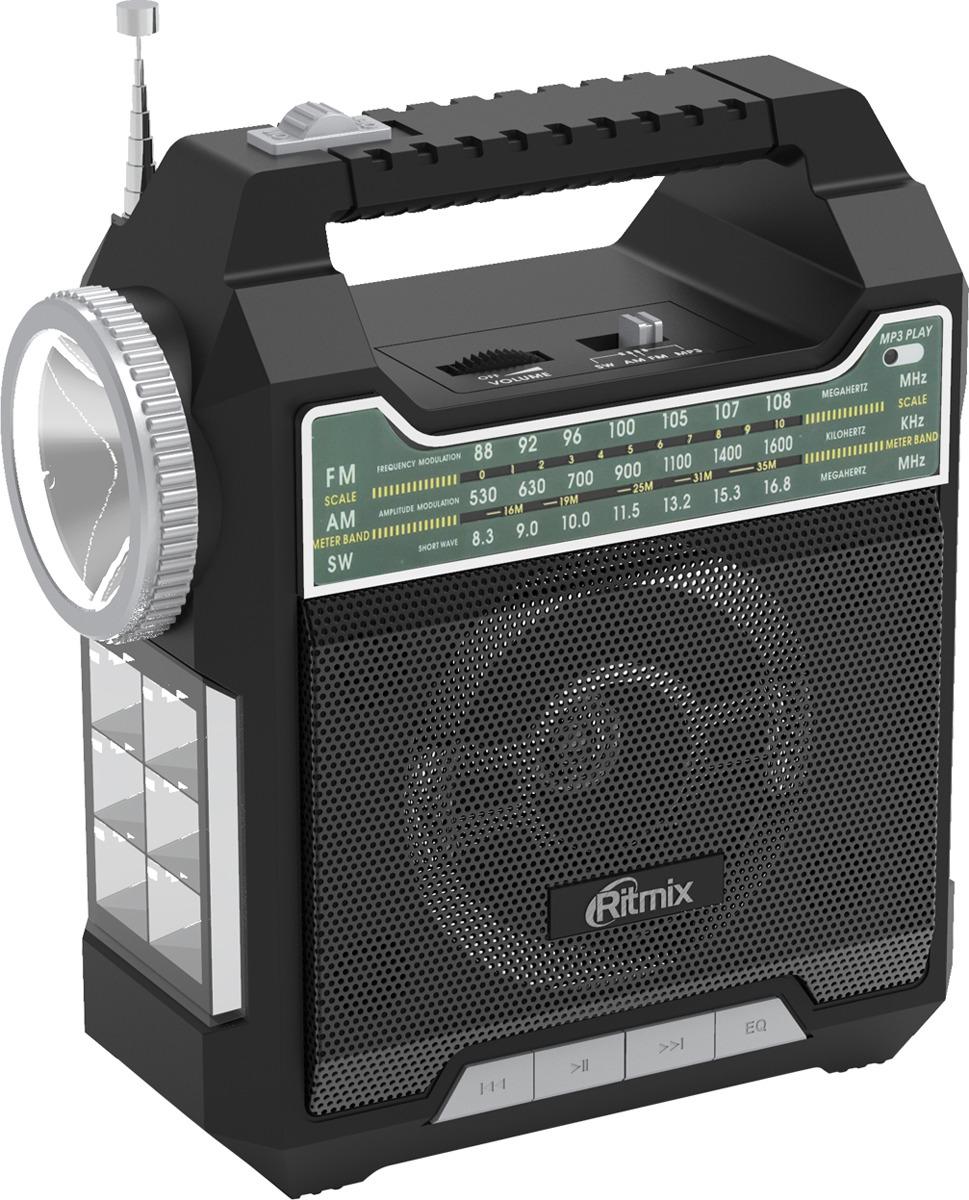 Радиоприемник Ritmix RPR-444, черный радиоприемник ritmix rpr 444