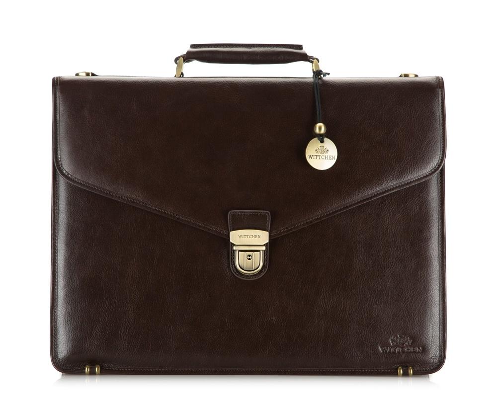 Портфель Wittchen 21-3-143, коричневый портфель wittchen 39 3 104 39 3 104 3 коричневый