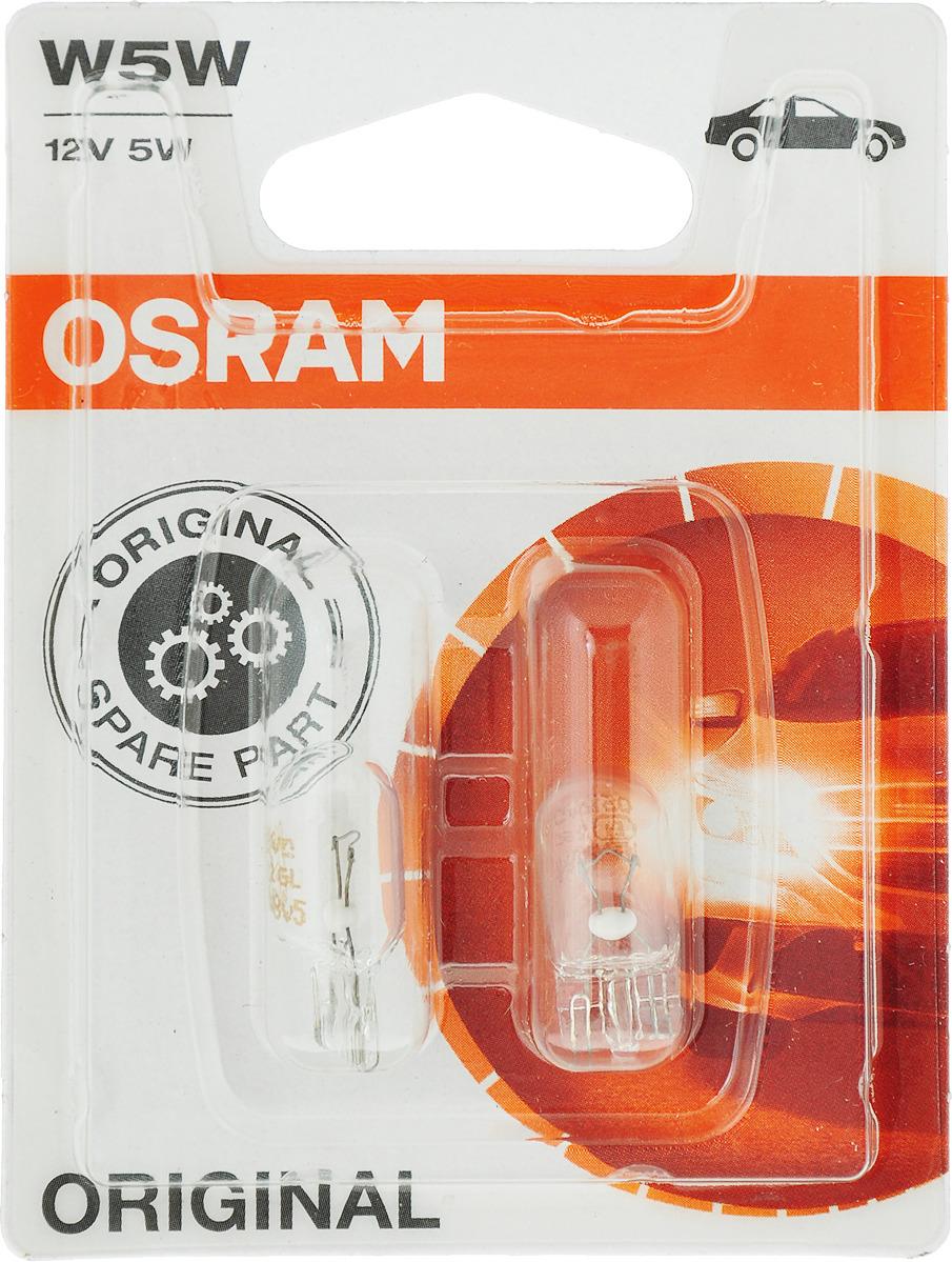 Лампа автомобильная Osram 5w Вт, Накаливания лампа автомобильная osram original line 51 вт галогенная