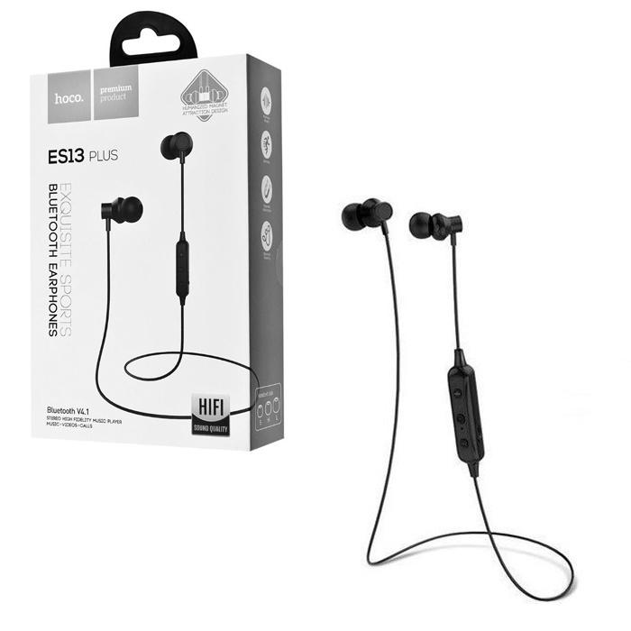 Bluetooth-гарнитура Hoco ES13 Plus, черный