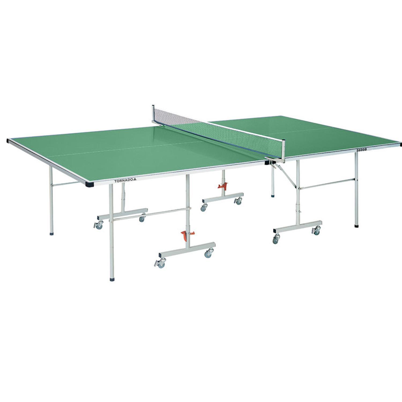 Теннисный стол DFC Tornado, зеленый теннисный стол dfc tornado 4 мм с сеткой