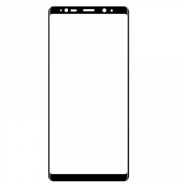 Защитное стекло Samsung Galaxy Note 8 (3D черная рамка), черный защитное стекло mobius samsung note 8 черный
