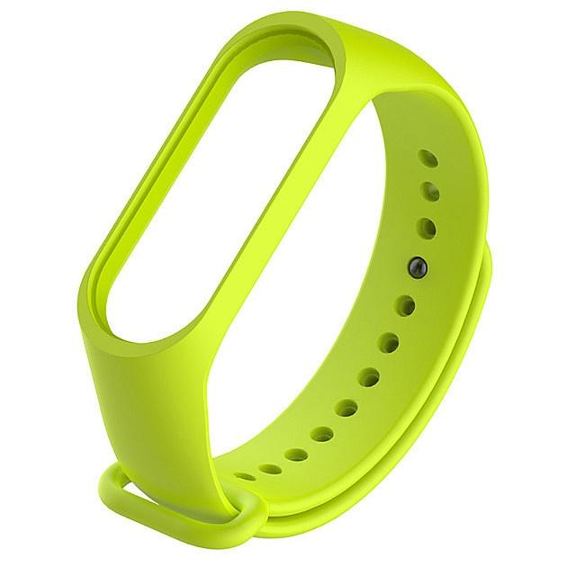 Ремешок для фитнес-браслета Силиконовый ремешок для Xiaomi Mi Band 3 (светло-зеленый), светло-зеленый трусы doness 134 140 dns 10 1006 светло зеленый светло зеленый 134 140 32 размер