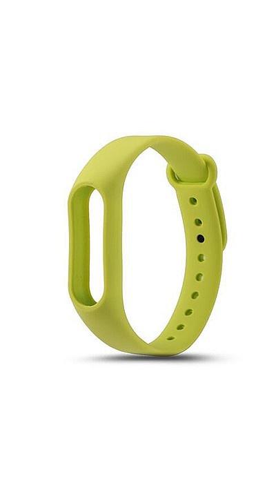 все цены на Ремешок для фитнес-браслета Силиконовый ремешок для Xiaomi Mi Band 2 (зеленый), зеленый онлайн