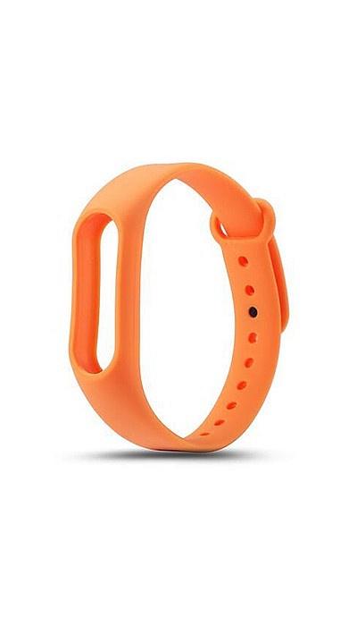 Ремешок для фитнес-браслета Силиконовый ремешок для Xiaomi Mi Band 2 (оранжевый), оранжевый оригинальный ремешок для mi band 2 black