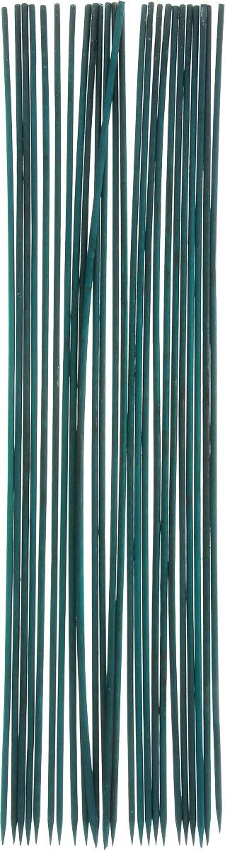 Фото - Опора для растений Garden Show, цвет: темно-зеленый, диаметр 0,5 см, длина 60 см, 25 шт ороситель для комнатных растений garden show шар цвет желтый 2 шт
