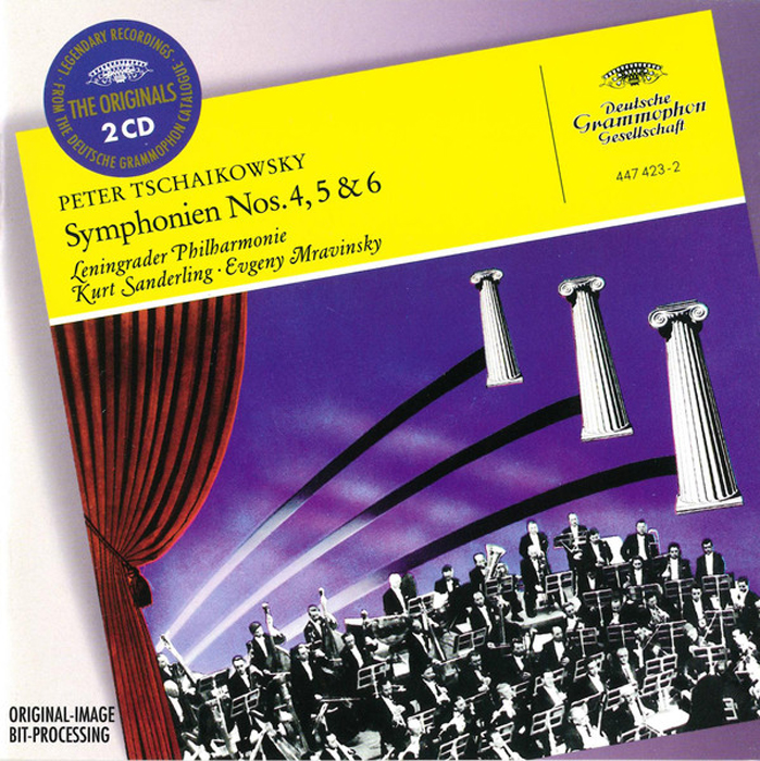 лучшая цена Evgeny Mravinsky. Tchaikovsky: Symphonies Nos.4, 5 & 6