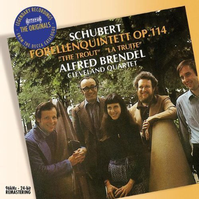 Альфред Брендель Alfred Brendel. Schubert: Piano Quintet - Trout clifford curzon schubert trout quintet 2 cd