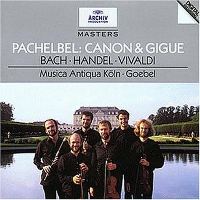 Reinhard Goebel, Musica Antiqua Koeln. Pachelbel: Canon & Gigue / Bach: Orchestral Suites