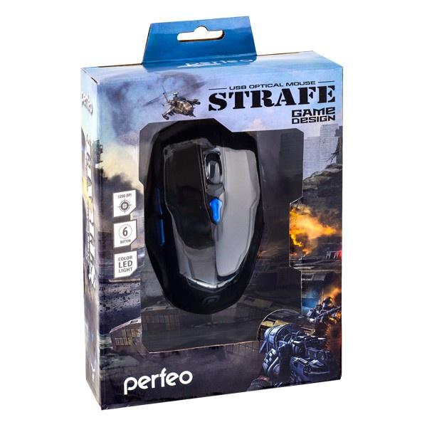 Мышь Perfeo PF_5018, черный мышь perfeo pf 608 gl g laser usb