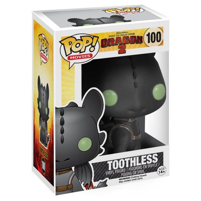 Фигурка Funko POP How To Train Your Dragon 2 - Toothless (Беззубик) цена