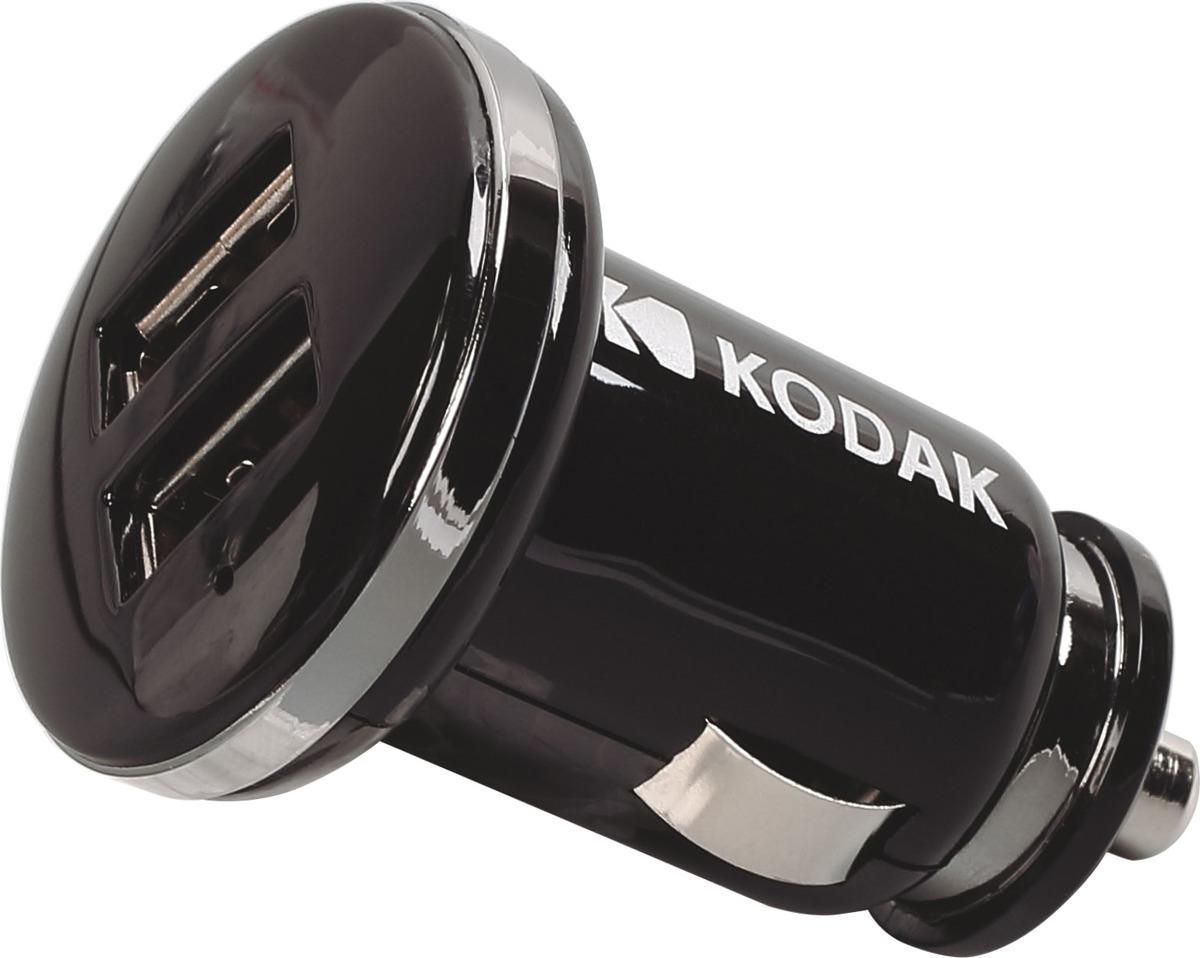 Автомобильное зарядное устройство Kodak, UC108, черный