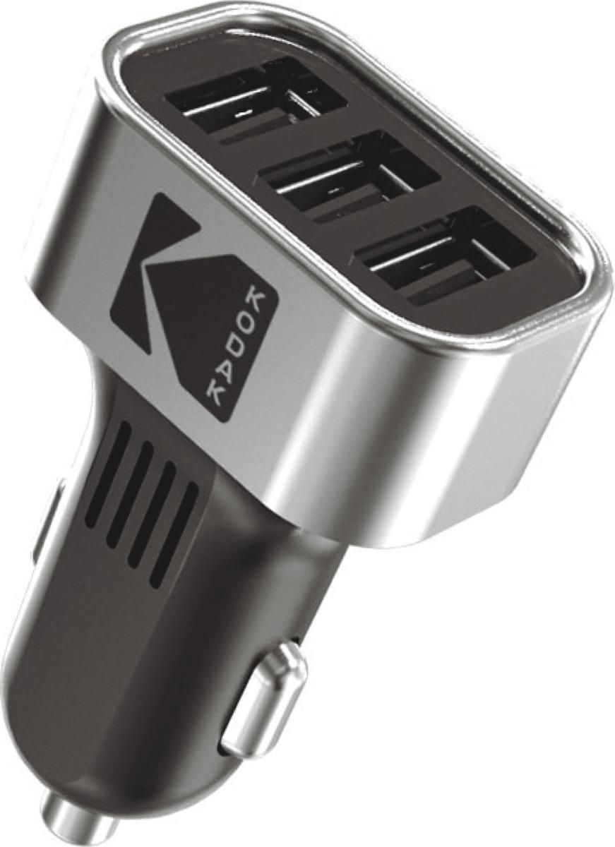 Автомобильное зарядное устройство Kodak, UC110, черный зарядное устройство hama h 93731 для навигаторов mini usb 12в 5в 1а черный