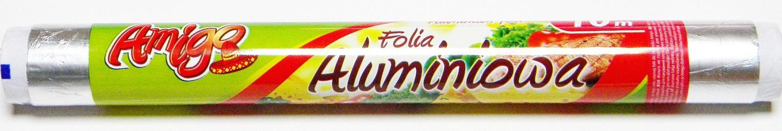 Фольга пищевая AMIGO 2919, серебристый