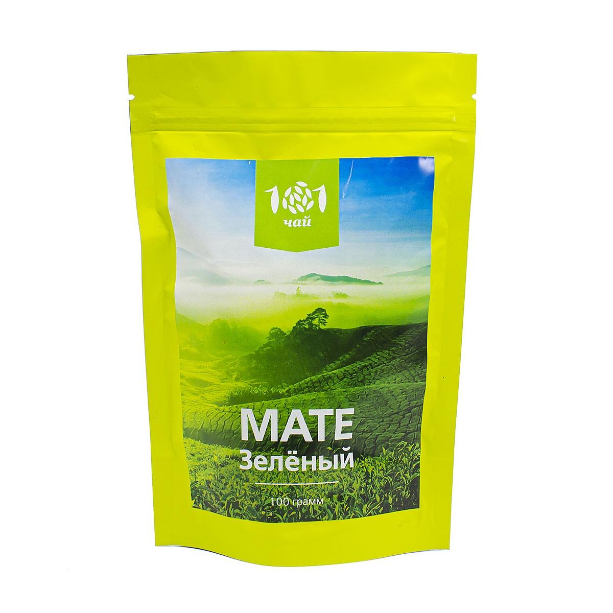 Чай Мате Зелёный, 100 г витамины 365 everyday value
