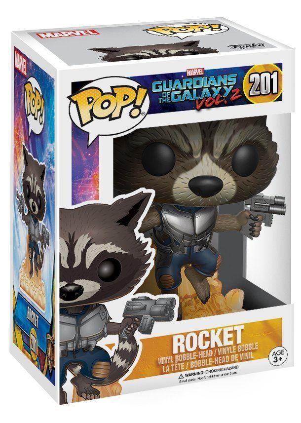 Фигурка Funko POP Guardians of the Galaxy 2 - Flying Rocket (Летящий Ракета) guardians of the galaxy creating marvel s spacefaring super heroes