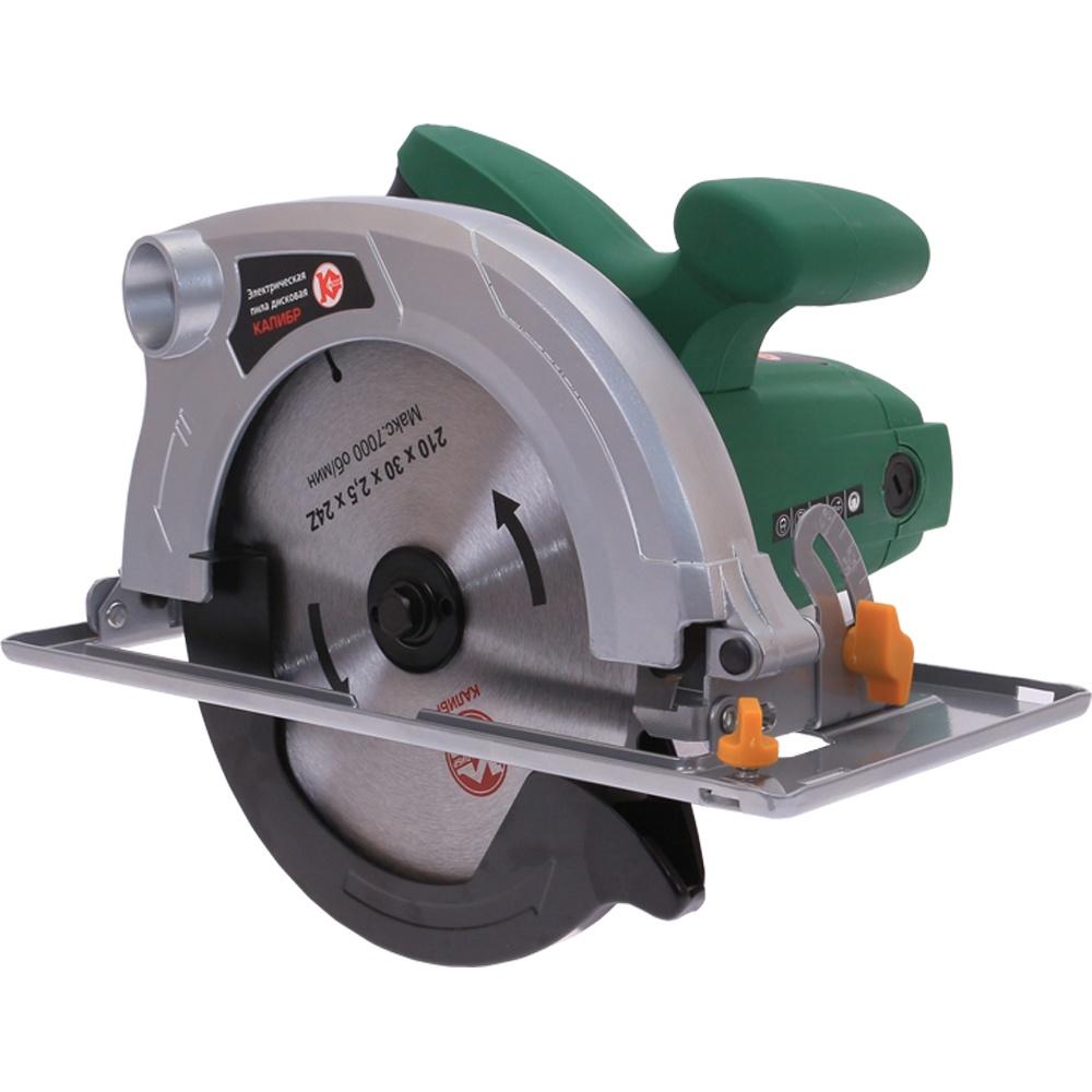 Пила дисковая Калибр ЭПД-1800/210, зеленый