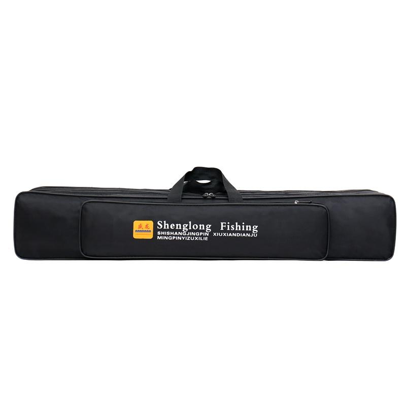 Ящик снастей Чехол-сумка для рыболовных и охотничьих аксессуаров 5 отсеков длина 80 см