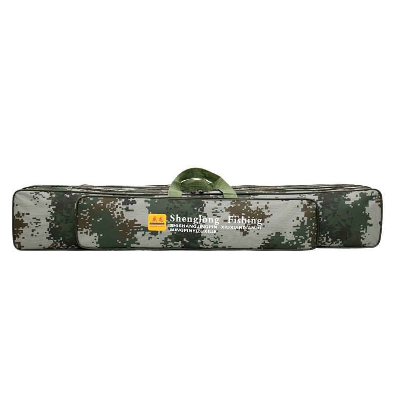 Ящик снастей Чехол-сумка для рыболовных и охотничьих аксессуаров 3 отсека длина 90 см