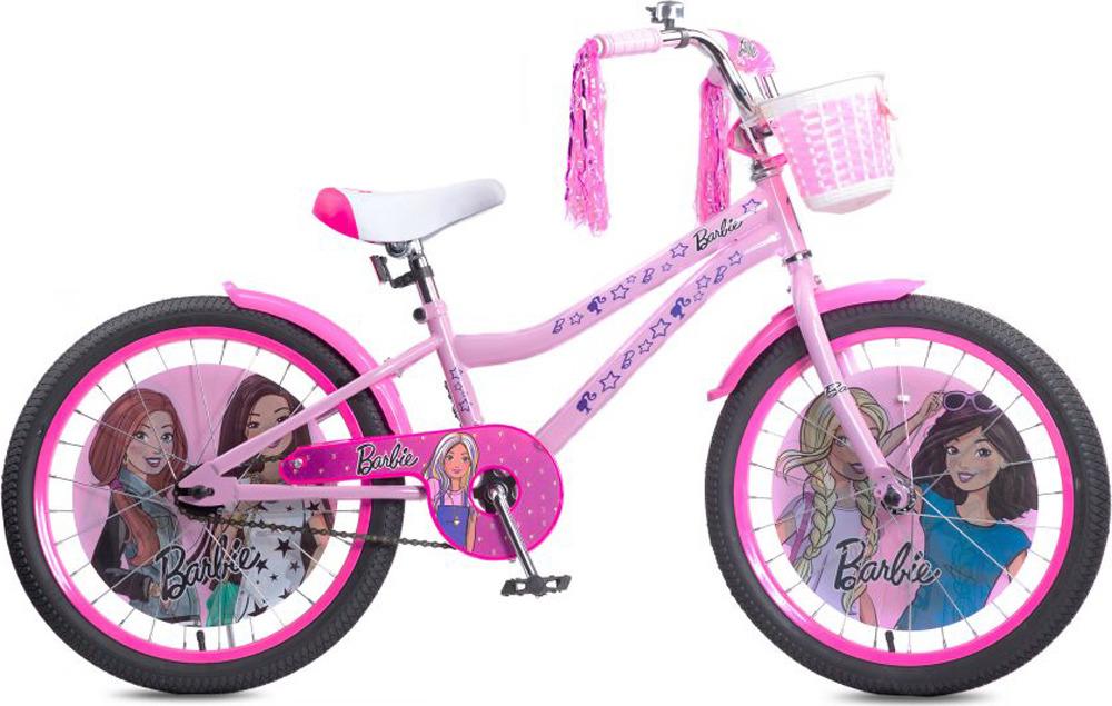 Велосипед детский Navigator Barbie, ВН20190, розовый, колесо 20