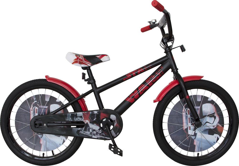 Велосипед детский Disney Star Wars, ВН20191, черный, красный, колесо 20