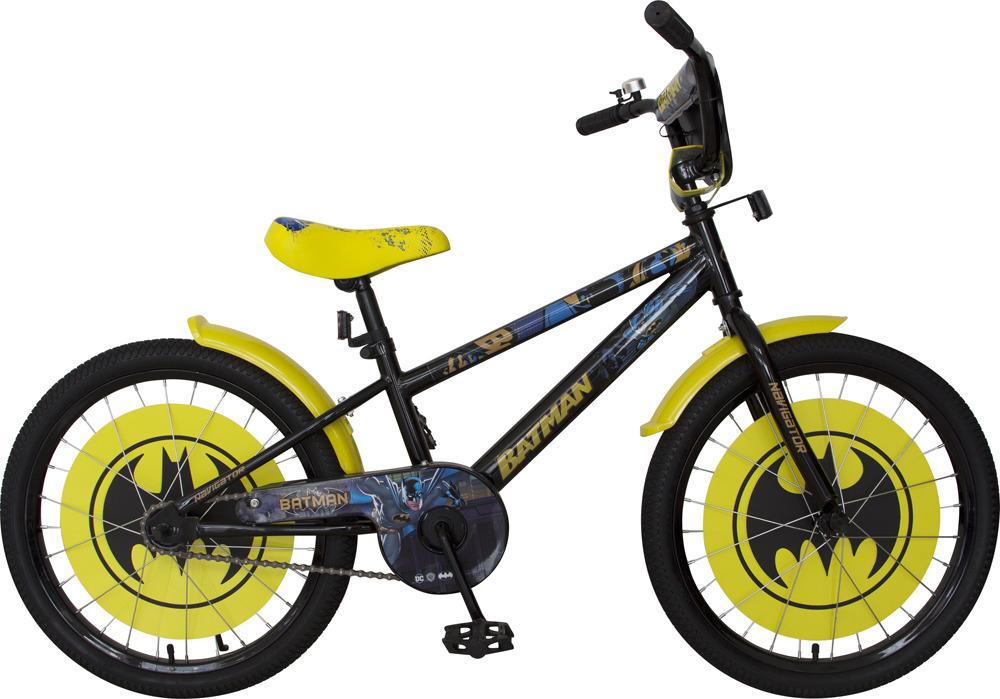 Велосипед детский Navigator Batman, ВН20192, желтый, черный, колесо 20