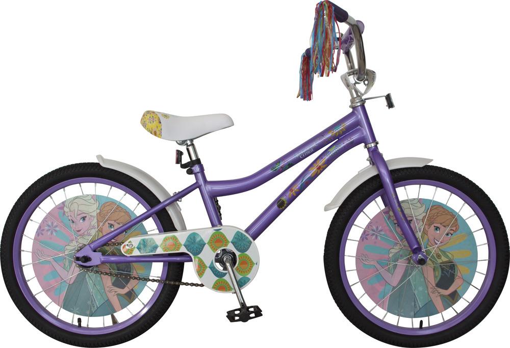 Велосипед детский Disney Холодное сердце, ВН20193, фиолетовый, белый, колесо 20