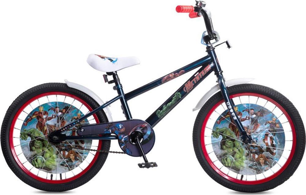 Велосипед детский Marvel Мстители, ВН20194, черный, красный, колесо 20