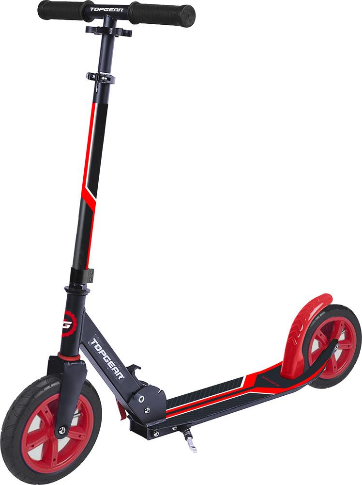 Самокат детский 1TOY TopGear, Т15465, красный, черный колеса для самоката надувные