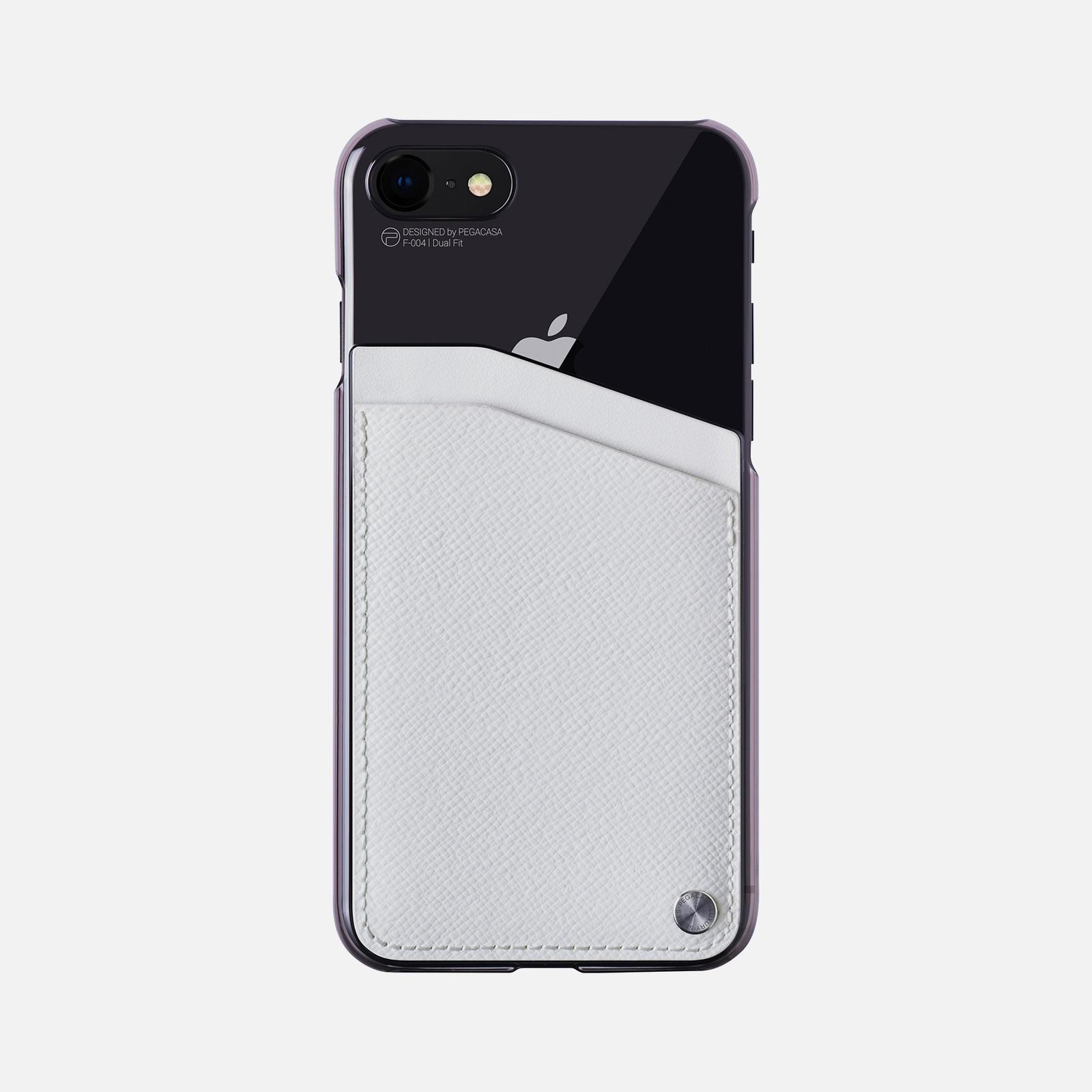 Фото - Чехол для сотового телефона PEGACASA F-004-W-4.7, белый calmoon 004 high quality dual ring detachable keychain keyring black silver