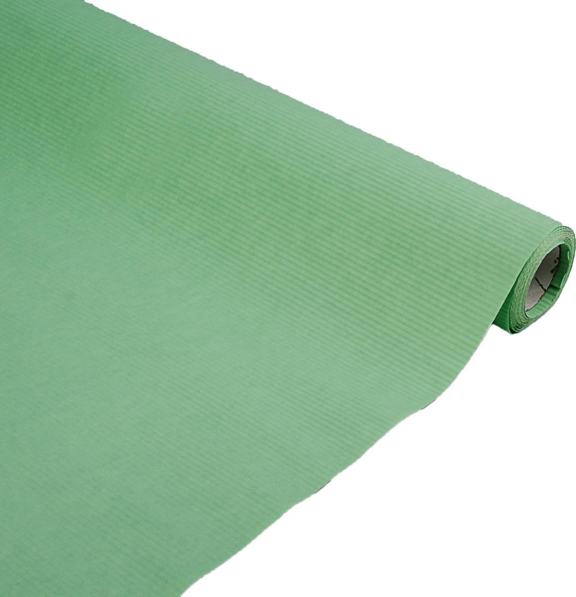 Бумага упаковочная, 3185691, мятный, 1 х 10 м