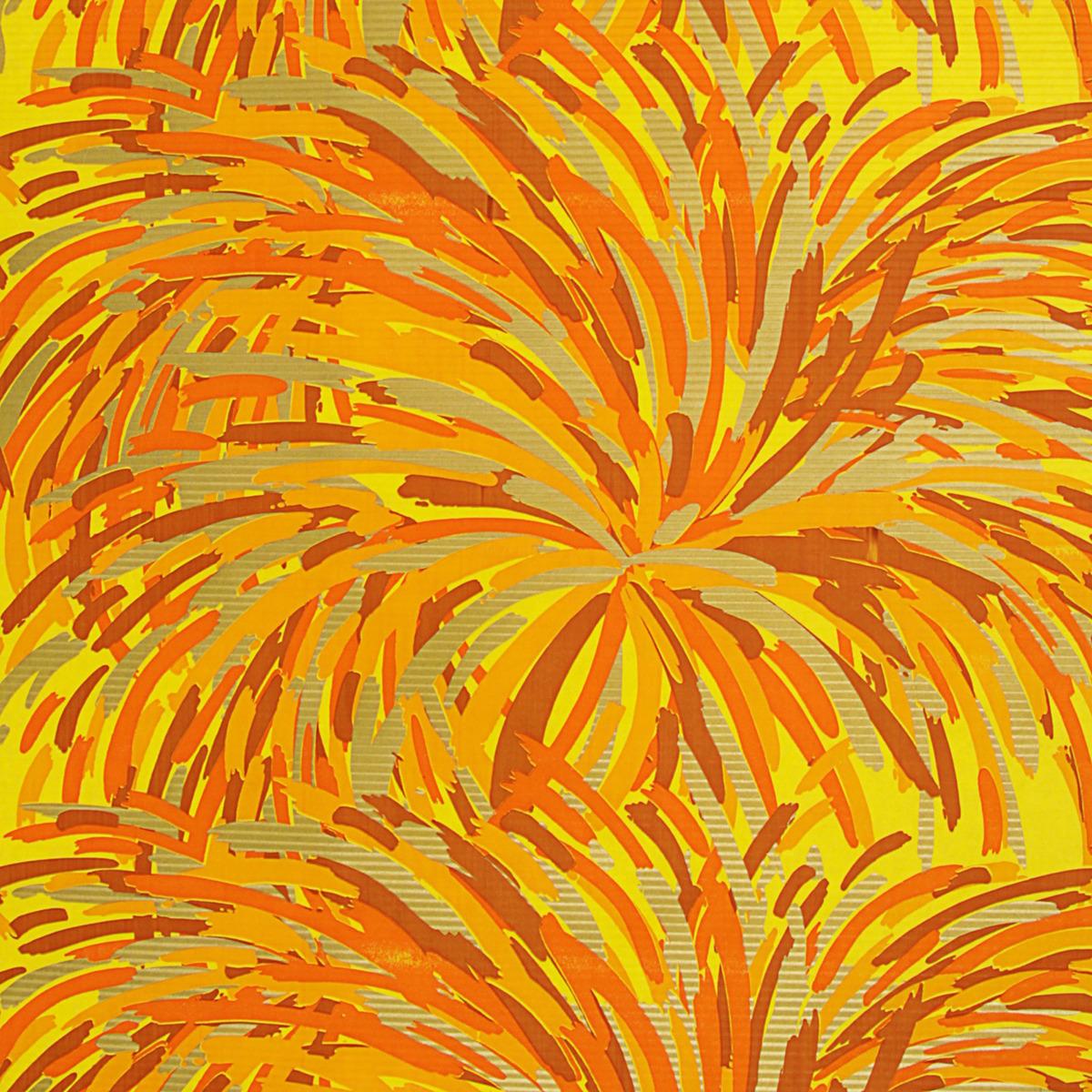 Бумага упаковочная, 3185712, желто-коричневый, 0,5 х 10 м Любой подарок начинается с упаковки...