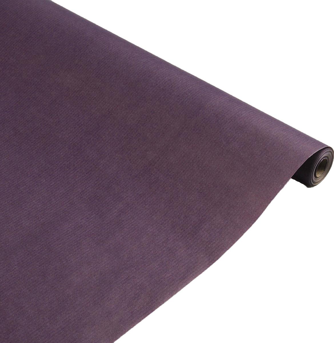 Бумага упаковочная, 3218056, фиолетовый, 0,7 х 10 м