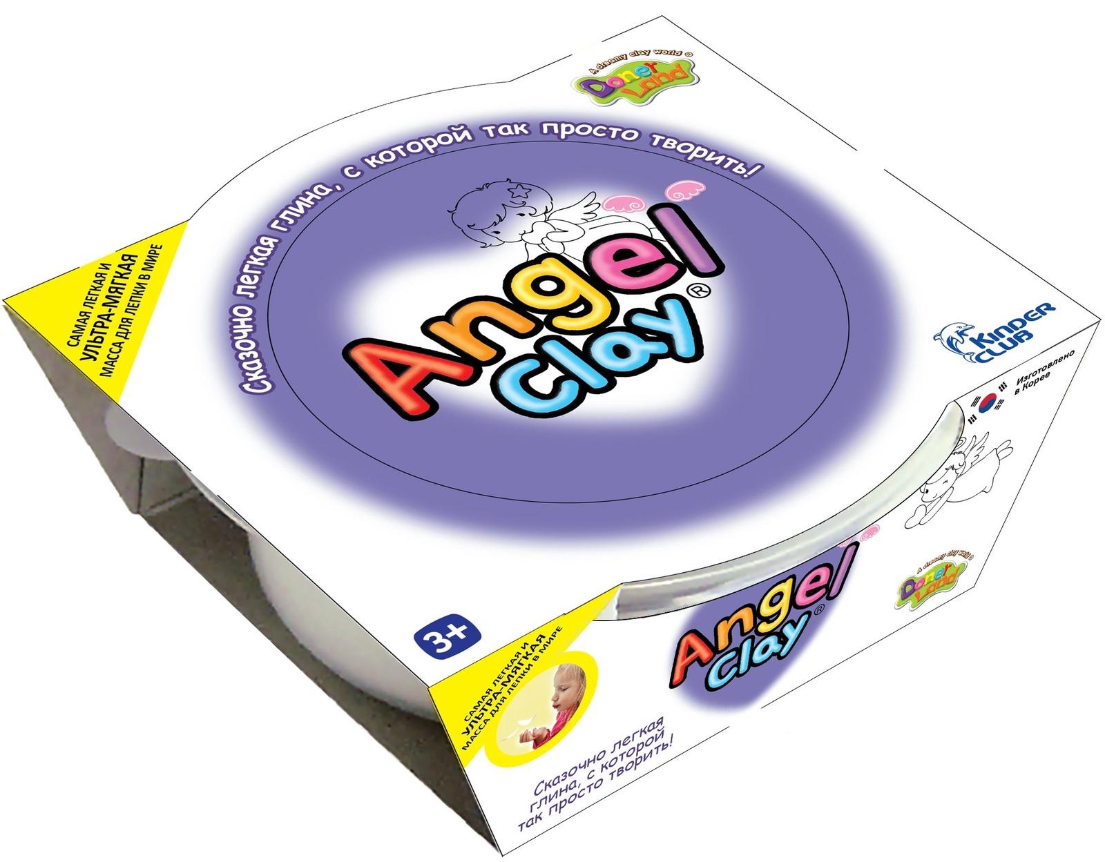 наборы для лепки angel clay набор для лепки angel clay шоколадная мастерская на русском языке Масса для лепки Angel Clay 65 гр