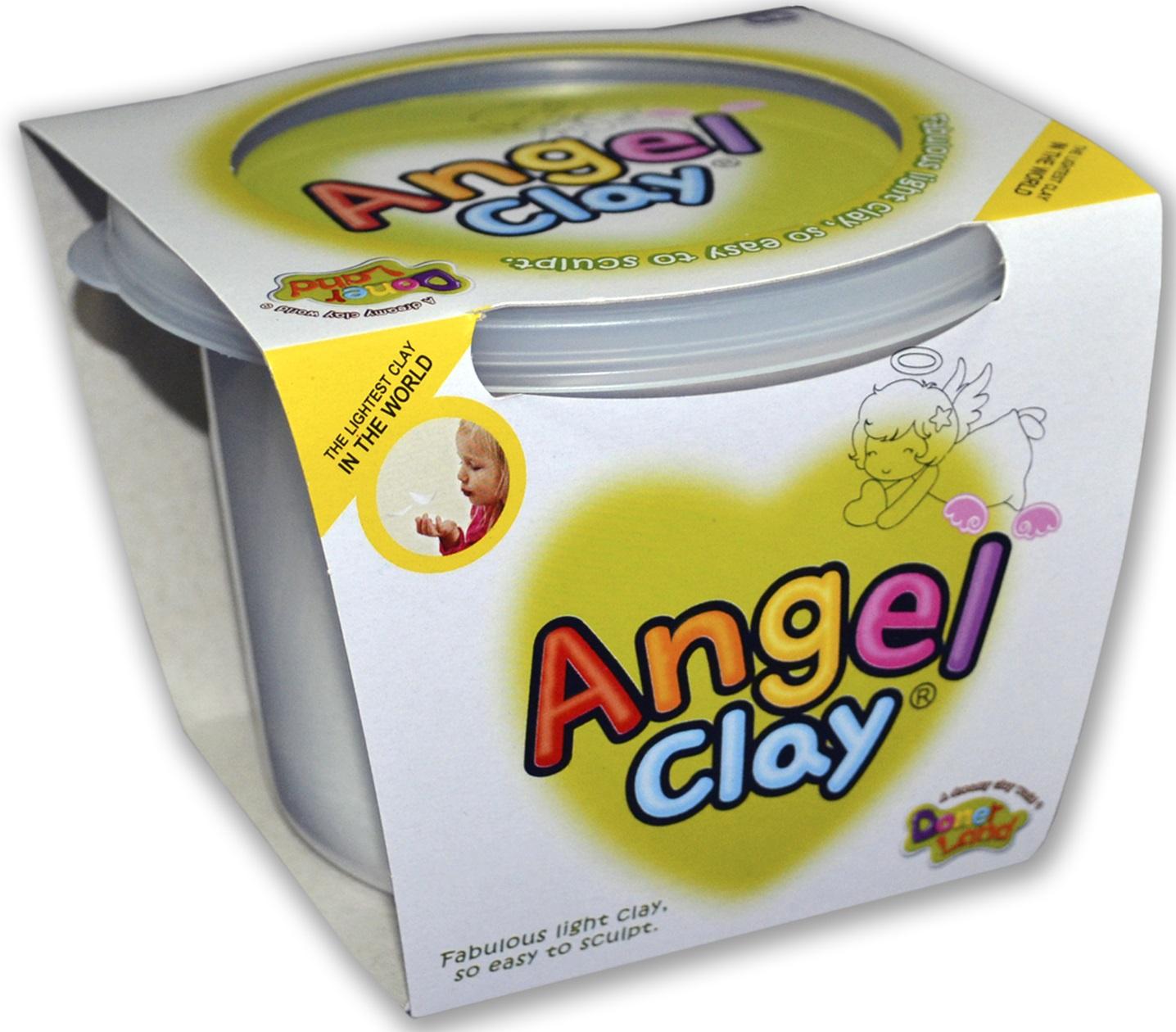 наборы для лепки angel clay набор для лепки angel clay шоколадная мастерская на русском языке Масса для лепки Angel Clay Мягкий пластилин 130 гр