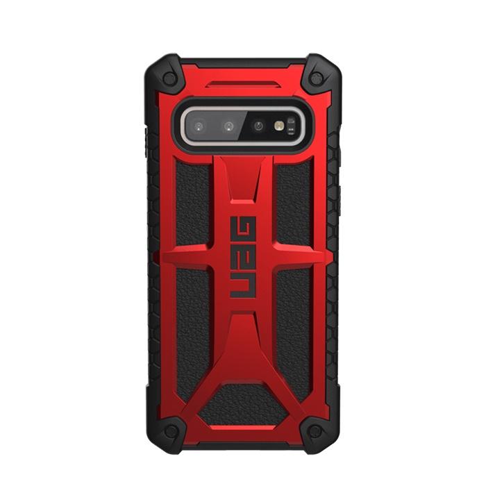 Чехол для сотового телефона UAG Monarch, красный защитный чехол uag monarch для iphone xs max цвет красный