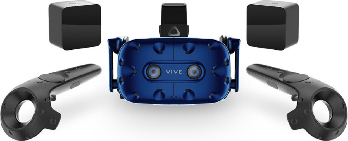 Очки виртуальной реальности HTC VIVE Pro SK EEA, черный очки виртуальной реальности htc vive pro full kit черный синий [99hanw006 00]