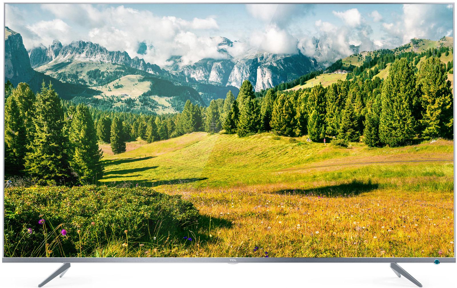Телевизор TCL L50P6US, серебристый телевизор 4к что это