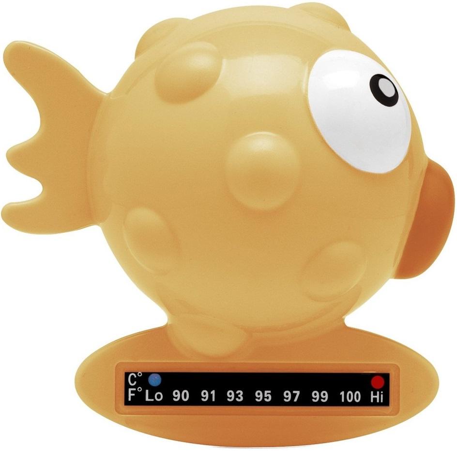 "Термометр для воды Chicco Baby Moments ""Рыбка"" оранжевый"