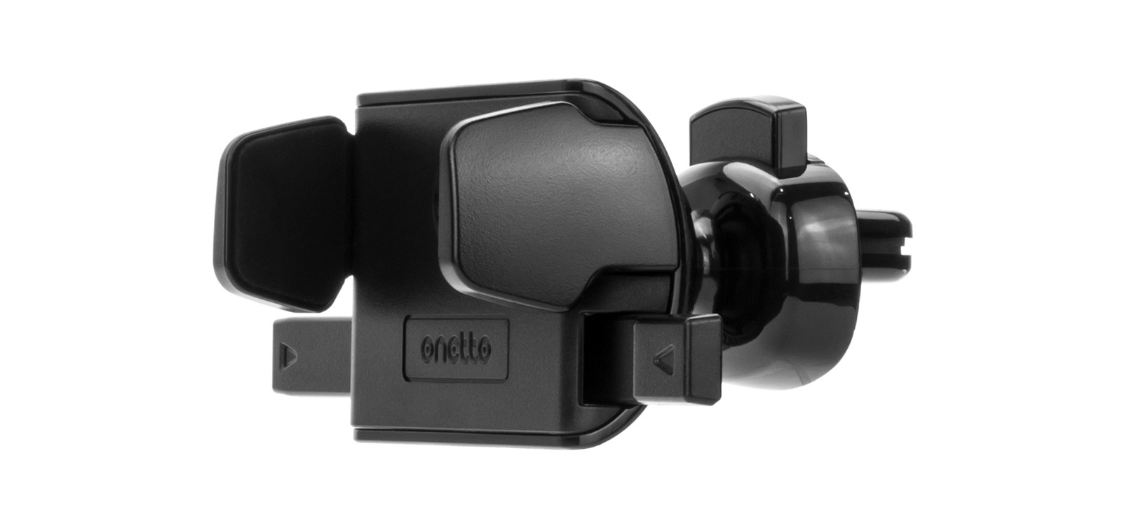 Автомобильный держатель Onetto Air Vent Mount One Touch Mini в воздуховод для телефона VM2 SM9, черный автомобильный держатель onetto mount easy one touch 2 черный