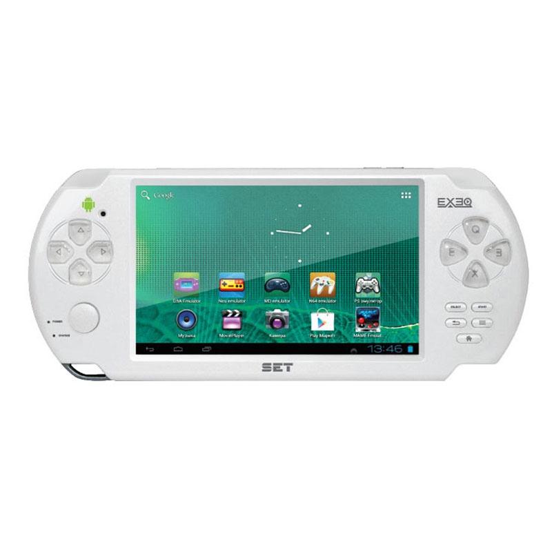 Игровая приставка EXEQ SET (белый), белый new nintendo 2ds xl animal crossing edition gray портативная игровая приставка