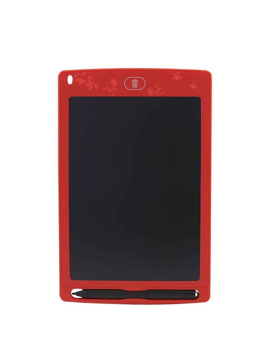 Графический планшет для рисования красный SXB03-08 DOLEMIKKI